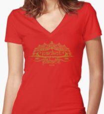 Pankot Palace Women's Fitted V-Neck T-Shirt