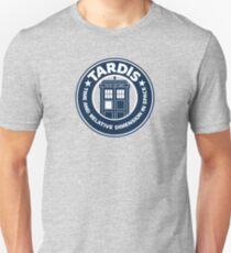 Tardis Coffee Unisex T-Shirt