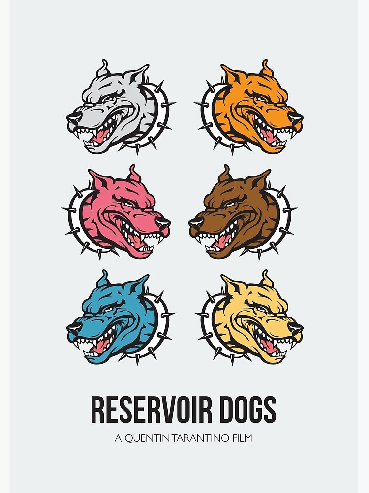 Reservoir Dogs - Alternative Movie Poster by MoviePosterBoy