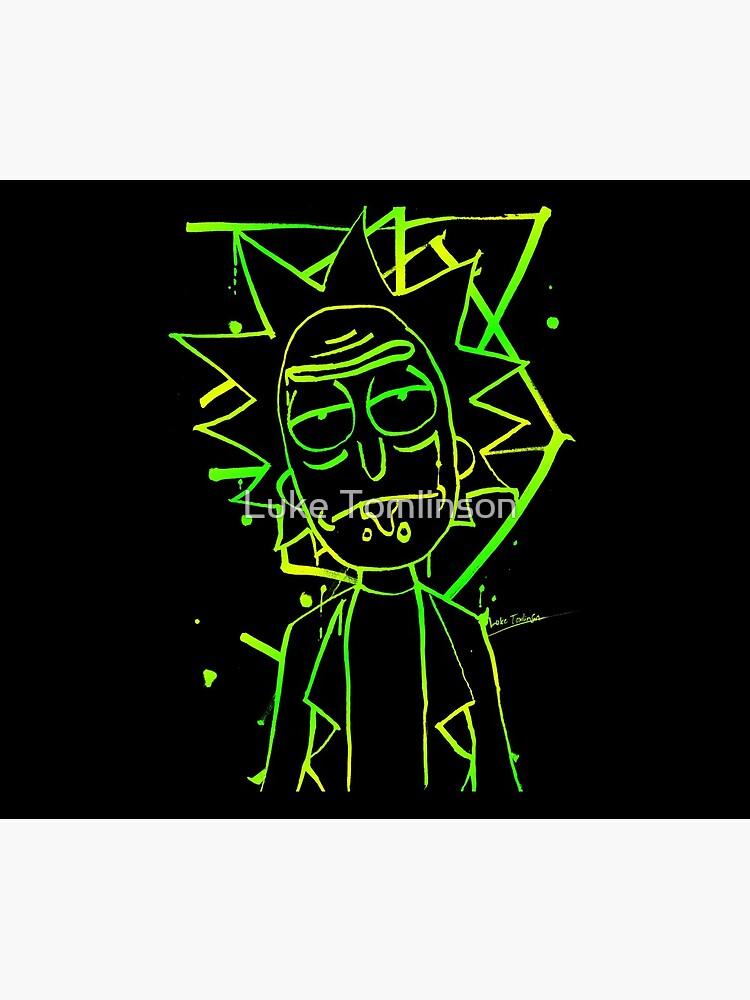 Rick - Ink (portal green) by lucafon18