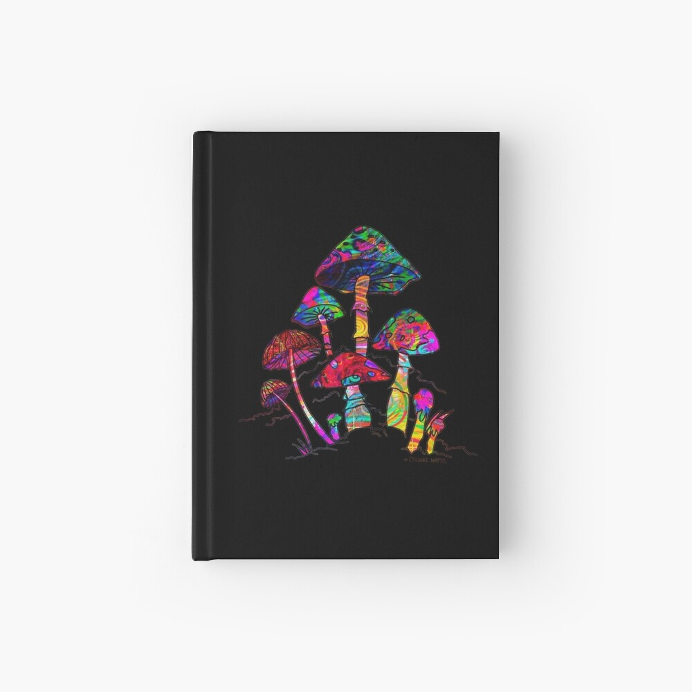 Magic Mushroomz Hardcover Journal