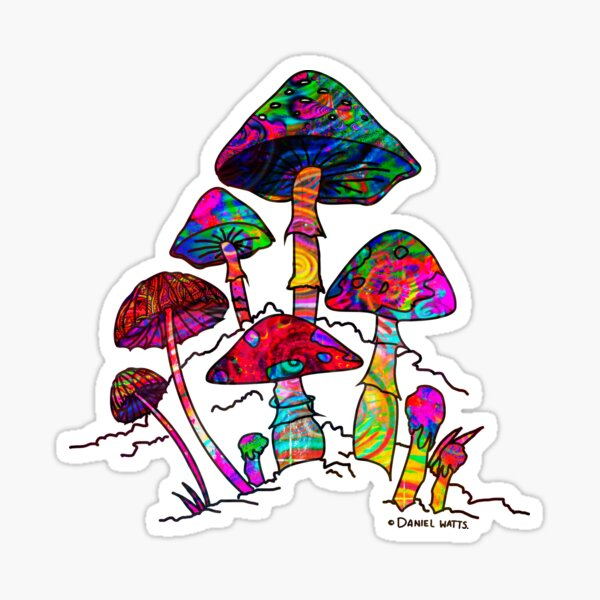 Magic Mushroomz Sticker