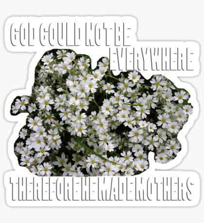 jewish mothers quote  Sticker