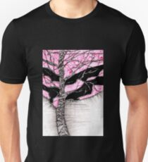 A tree in a storm - faith and truth Slim Fit T-Shirt