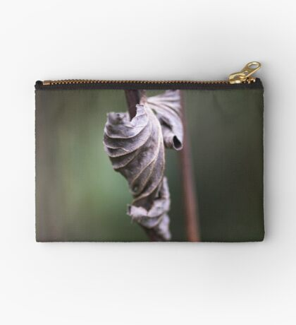 See the Beauty in a Dead Leaf Studio Pouch