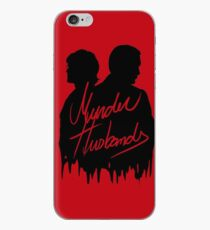 Murder Husbands [Black/Red] iPhone Case