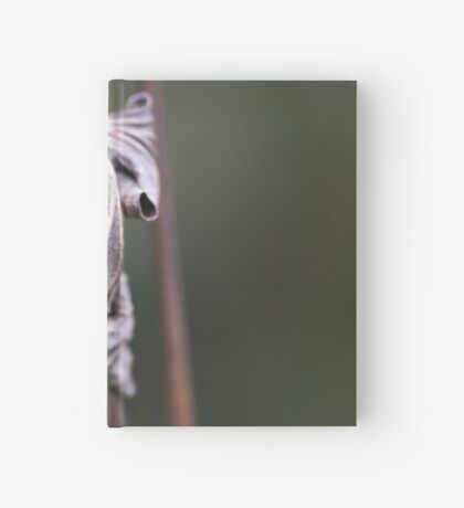 See the Beauty in a Dead Leaf Hardcover Journal