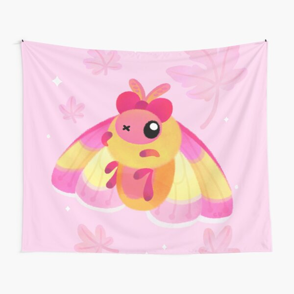 Rosy Maple Moth Tapestry
