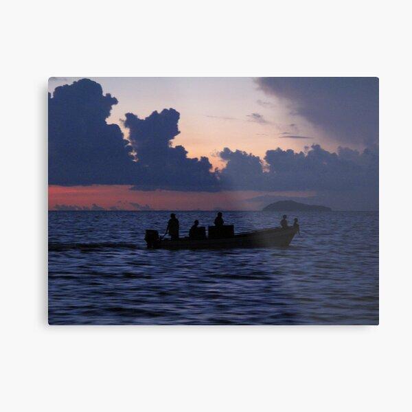 Modern day seafarers Metal Print