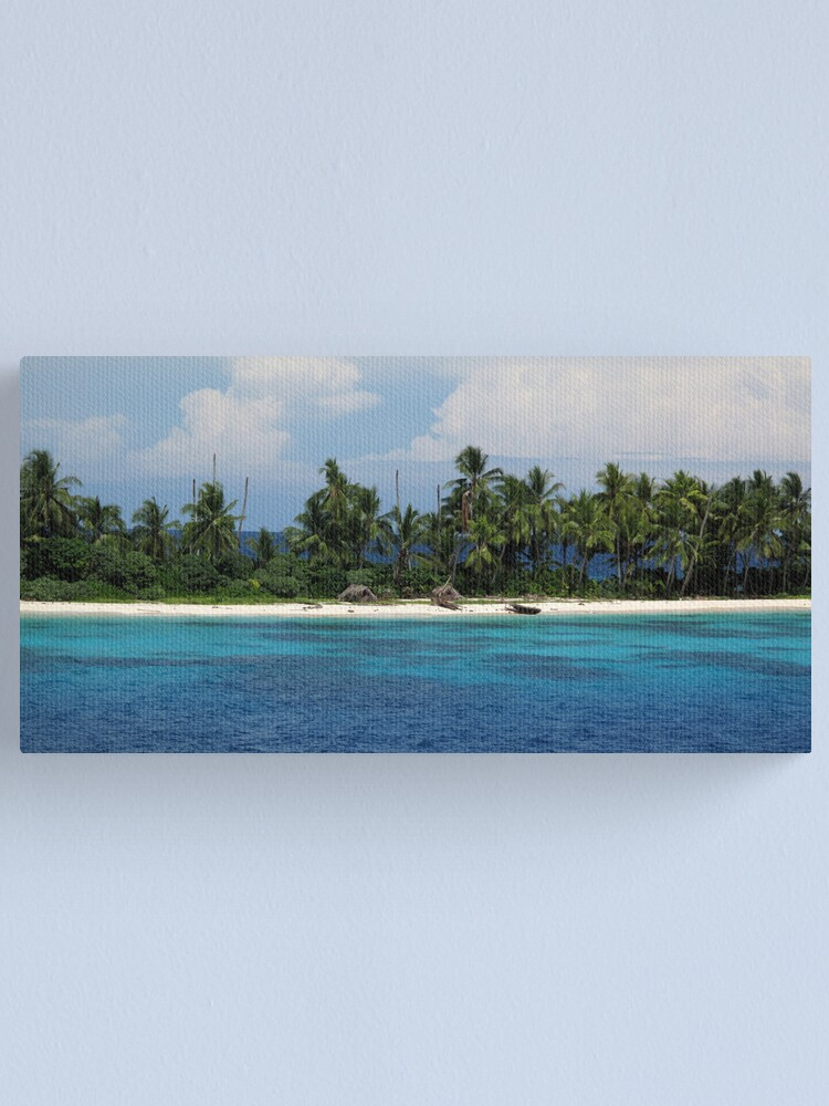 Alternate view of Kanapu Shoreline Canvas Print
