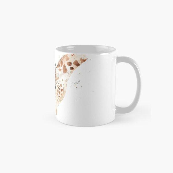 Aquarellbild mit Giraffen, Mutter und Kind Tasse (Standard)