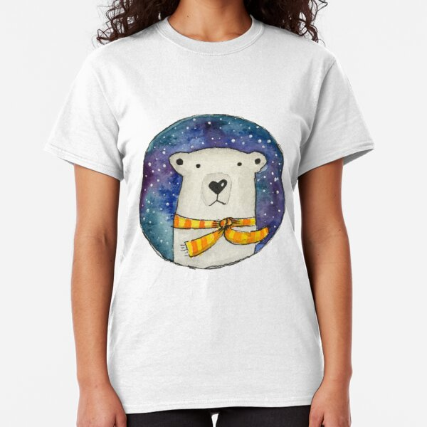 Winter Bear, Baby it's cold outside Classic T-Shirt