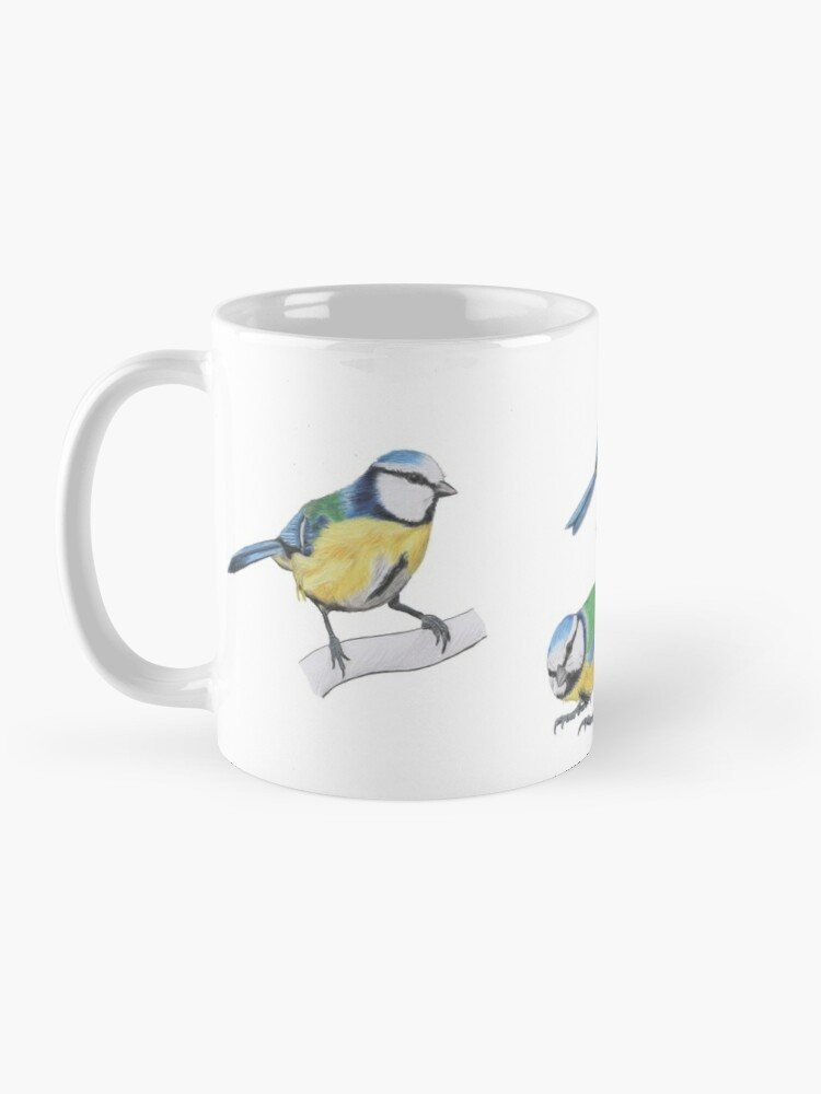Alternate view of Bluetits Mug