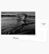 boat beach ballywalter Postcards