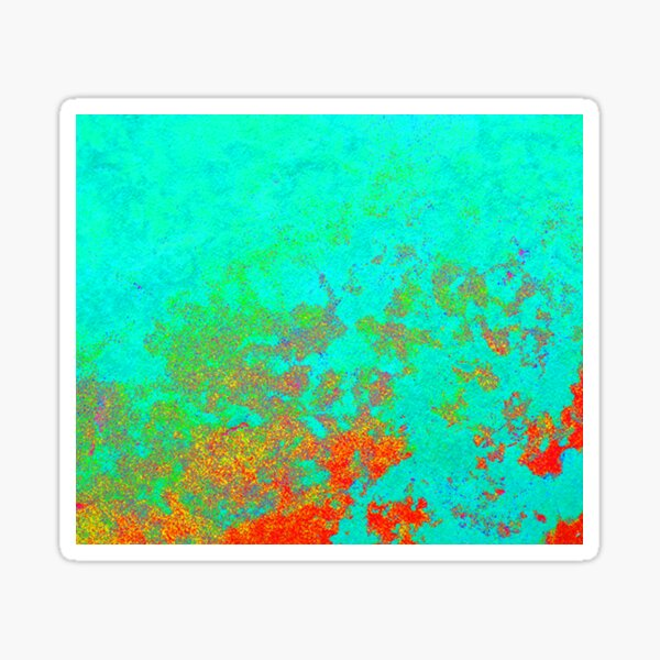 Cosmic Microwave Background Radiation (CMBR) Effect Sticker