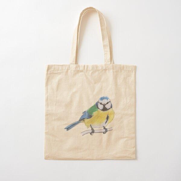 Bluetit 2/4 Cotton Tote Bag