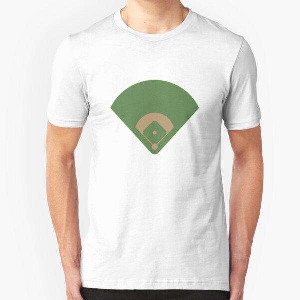 Baseball Diamond Slim Fit T-Shirt
