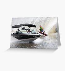 Moomba Masters Water Skiing Greeting Card