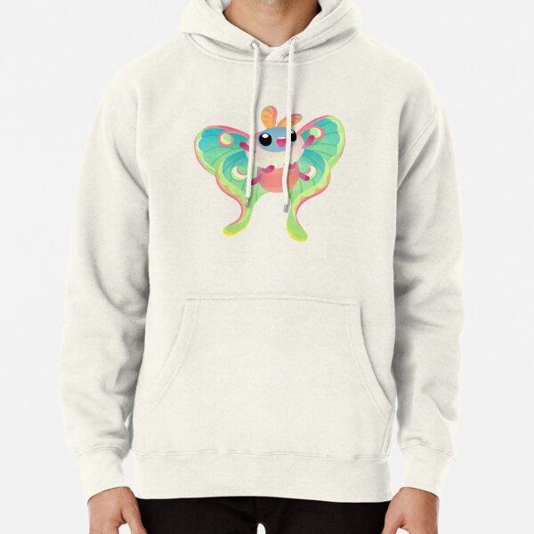Luna Moth Pullover Hoodie