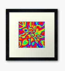 Abstract random colors #1 Framed Print