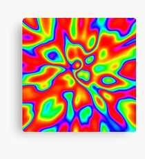 Abstract random colors #1 Canvas Print