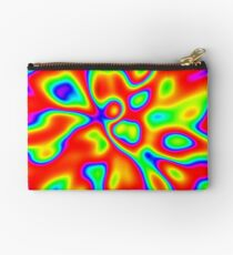 Abstract random colors #1 Zipper Pouch