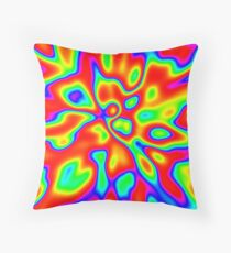 Abstract random colors #1 Throw Pillow