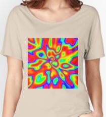 Abstract random colors #1 Relaxed Fit T-Shirt