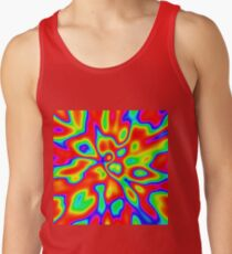 Abstract random colors #1 Tank Top