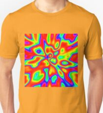 Abstract random colors #1 Slim Fit T-Shirt