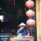 Monkey Whistle Vendor by phil decocco