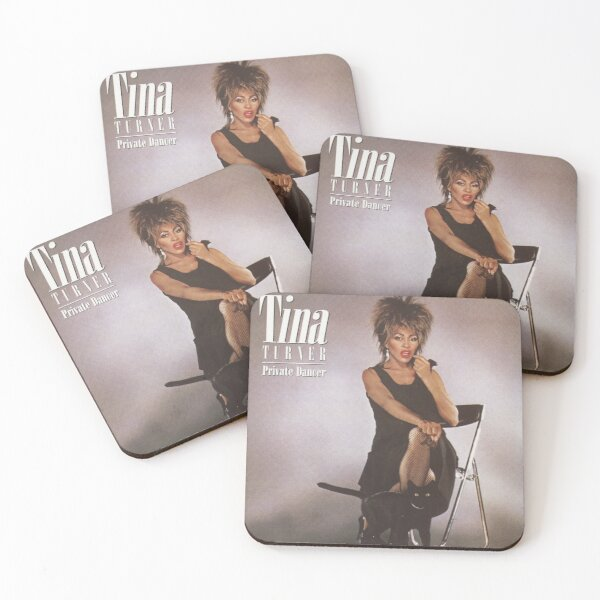 Tina Turner Private Dancer Coasters (Set of 4)