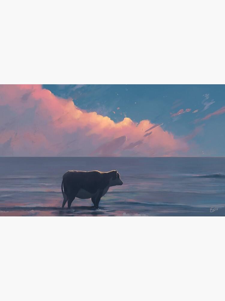 A Cow At The Sea by RabbitRan