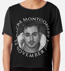 Darce Montgomery - 22 november 1994 Chiffon Top