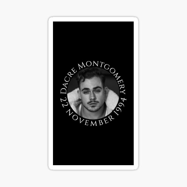 Dacre Montgomery - 22 november 1994 Sticker