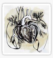 The Heart is an Organ of Fire Sticker