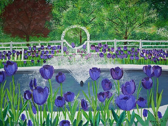 Tulip Garden by maggie326