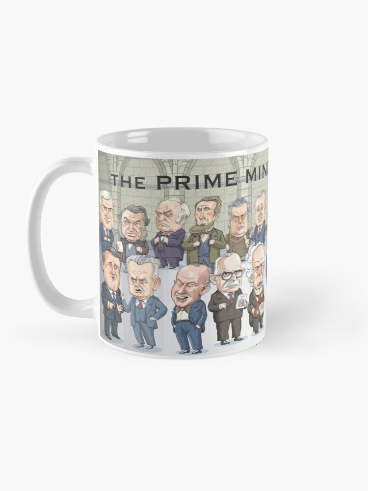 Alternate view of Canada's Prime Ministers Mug