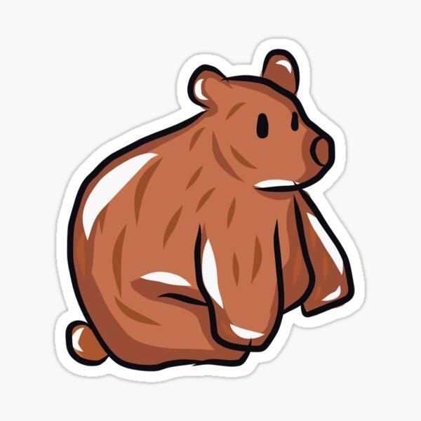 Winter Bear individual sticker Sticker