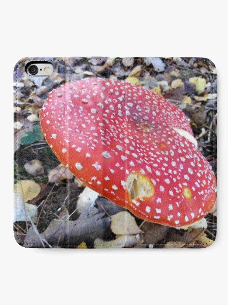 Alternate view of Fairytale Mushroom iPhone Wallet