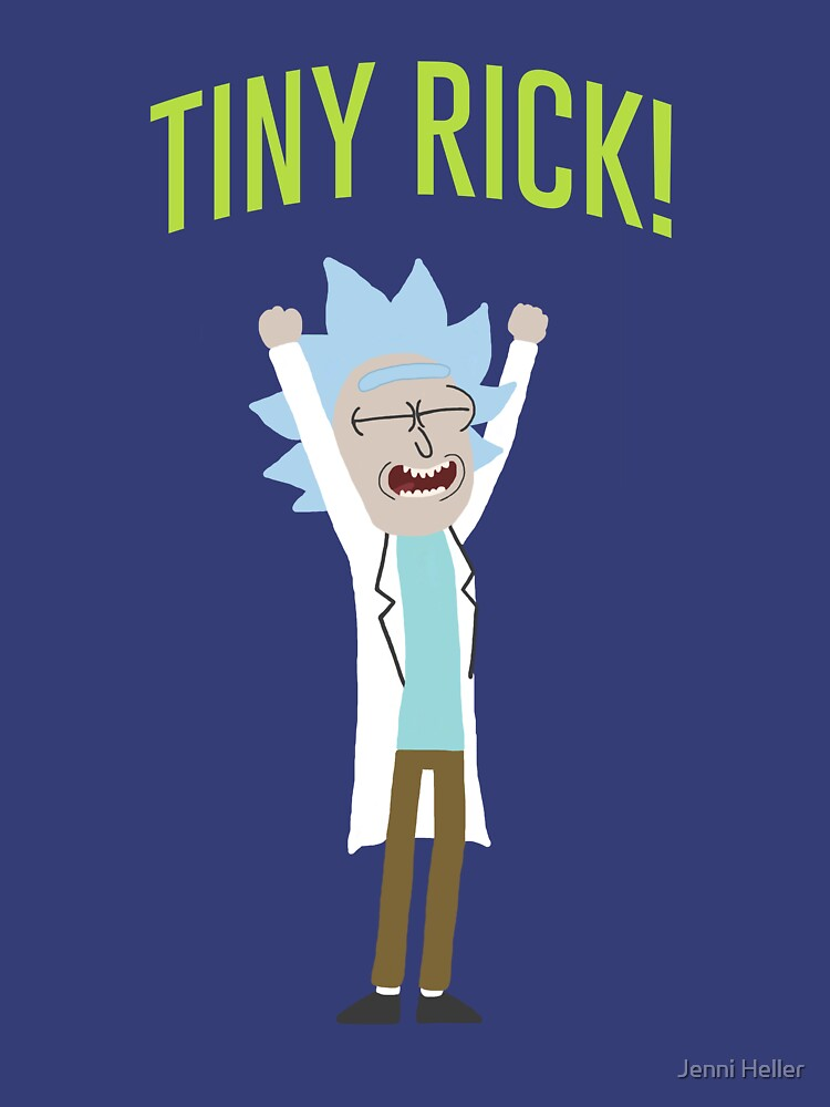 Tiny Rick! by incendiarywit