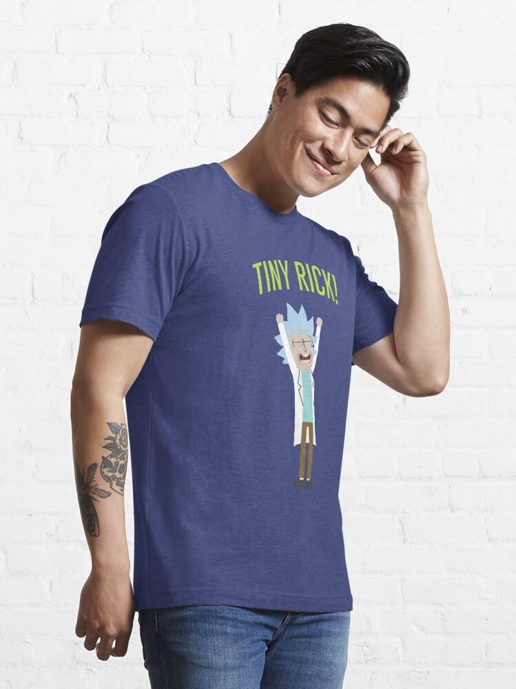 Alternate view of Tiny Rick! Essential T-Shirt