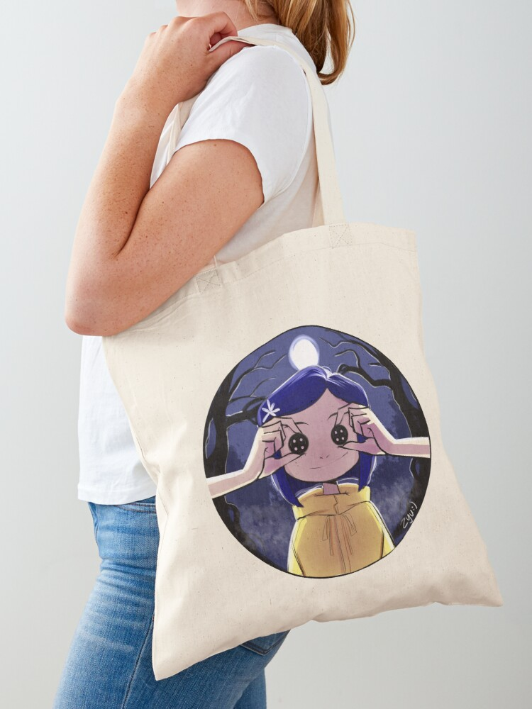 Coraline Tote Bag By Zyulla Redbubble