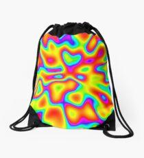 Abstract random colors #2 Drawstring Bag