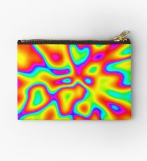 Abstract random colors #2 Zipper Pouch