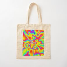 Abstract random colors #2 Cotton Tote Bag