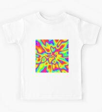 Abstract random colors #2 Kids T-Shirt