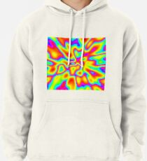 Abstract random colors #2 Pullover Hoodie