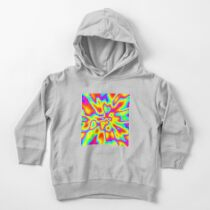 Abstract random colors #2 Toddler Pullover Hoodie