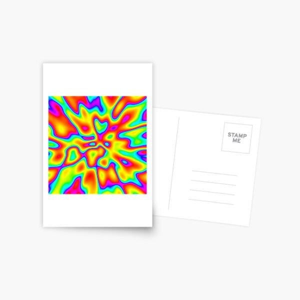 Abstract random colors #2 Postcard